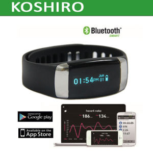 Touch Screen Bluetooth Activity Wristband Smart Heart Rate Watch pictures & photos