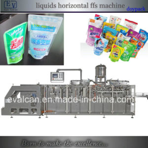 Automatic Liquid Stand up Pouch with Zipper Form Fill Seal Packing Machine pictures & photos