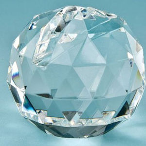 Crystal Facet Ball Business Name Card Holder Office Supply pictures & photos
