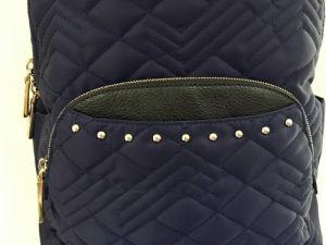Wholesal Fashion Lady Nylon Stitching Backpack /Hight Quality (1605-43) pictures & photos