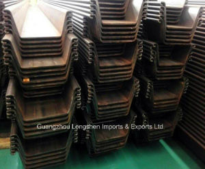 Building Materials High Tensile Steel Sheet Pile