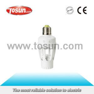 Infrared Motion Sensor Holder for E27 Bulb pictures & photos