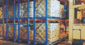 Double-Deep Steel Warehouse Storage Pallet Racks pictures & photos