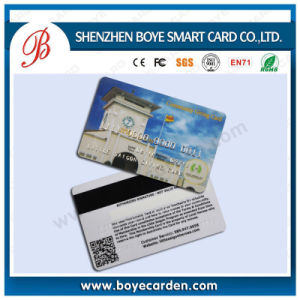 ISO14443A 13.56MHz Contacless RFID Plastic Magnetic IC Card pictures & photos