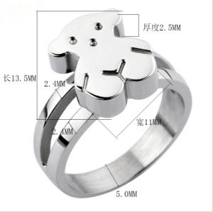 Stainless Steel Jewelry Lady Fashion Ring (hdx1076) pictures & photos
