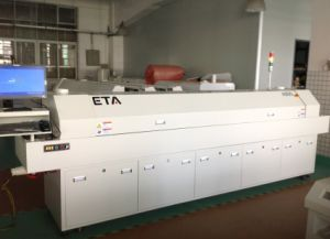 Economical Reflow Oven of LED Production Line. 8 Heating Zone Reflow Oven pictures & photos