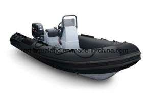 Aqualand 16feet 4.7m/Rigid Inflatable Boat/Rib Fishing Boat (RIB470A) pictures & photos