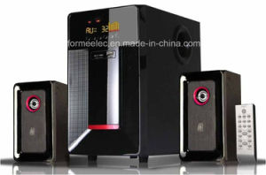2.1CH Multimedia Speaker with USB SD FM Subwoofer pictures & photos