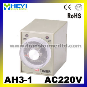 Ah3-1 3A AC220V Time Delay 2 Switch Timer pictures & photos