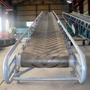Height Adjustable Agriculture, Chemicals mobile Belt Conveyor pictures & photos