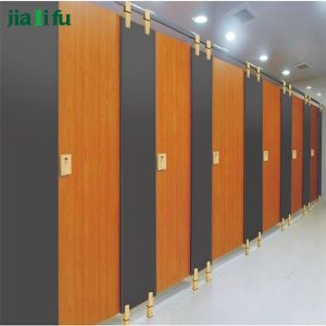 Jialifu HPL Laminate Sheet Material Toilet Cubicle Partition pictures & photos