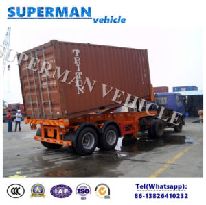 20FT Container Transport Cargo Dumper Tipper Tipping Trailer pictures & photos
