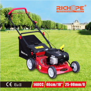 Cheap High Efficiency Gasoline Lawn Mower for Garden Use pictures & photos
