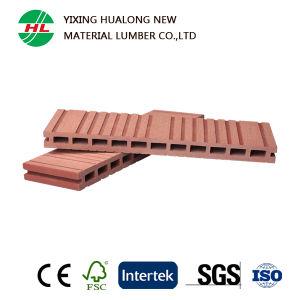 Wood Plastic Composite Decking WPC Hollow Outdoor Floor (HLM6) pictures & photos