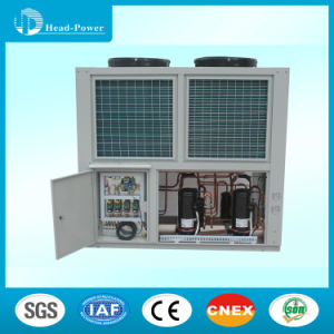 Central Air-Conditioning Air-Cooled Heat Recovery Scroll Water Chiller pictures & photos