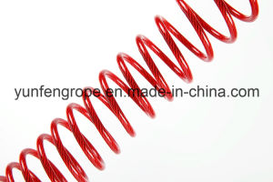 PU Plastic Coated Wire Rope 7*19-3.0~4.0