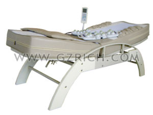 Manual Lift Thermal Jade Massage Bed pictures & photos