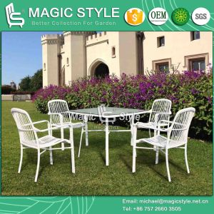 New Design Dining Set Wicker Dining Chair Outdoor Furniture Rattan Chair Garden Chair Patio Dining Set Stackable Chair pictures & photos