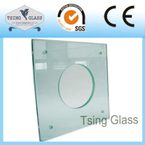 Cut Sizes Small Pieces Tempered Glassd Toughened Glass with Polsihed Edges pictures & photos