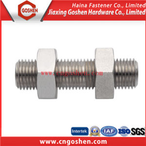 Nonstandard High Strength Stud Bolt / Double Head Bolt pictures & photos