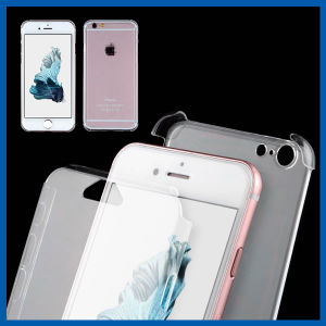 Clear Transparent Built in Screen Protector Case for iPhone 6s pictures & photos