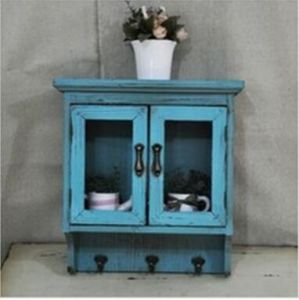 2016 New Kitchen Room Shabby Chic Glass Inlaid Credenza pictures & photos