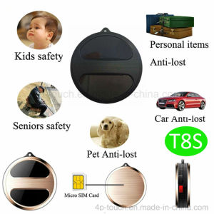Round Shape GPS Tracker with GPS+Lbs Dual Positioning (T8S) pictures & photos