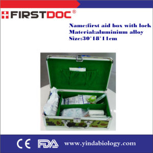 First Aid Kit Box with Lock Qan1062 pictures & photos
