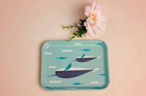Bamboo Fiber Tableware Tray with Printed (BC-TP1006) pictures & photos