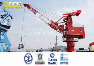 Fixed Gear Luffing Portal Crane for Sale pictures & photos