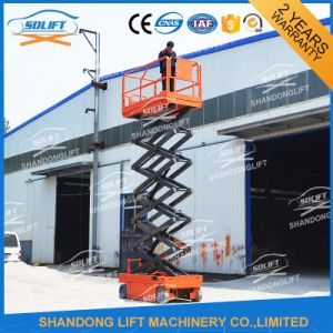 Automatic Self-Propelled Scissor Telescopic Ladder Battery Power with Ce pictures & photos