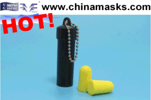 PU High Quality Safety Earplug with CE pictures & photos