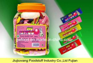 Jjw 7cm Big Rabbit Tattoo Stick Bubble Gum in Round Jar pictures & photos