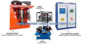Kgps Parallel If Hydraulic Steel Shell Melting Furnace pictures & photos