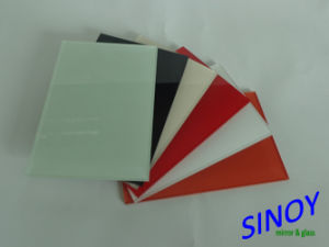 Float Glass Double Coated Decorative Back Painted Glass / Lacquered Glass for Interior Applicaitons pictures & photos