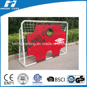 Portable Soccer Goal with Target Shoot(EN71.Non Phalates) pictures & photos