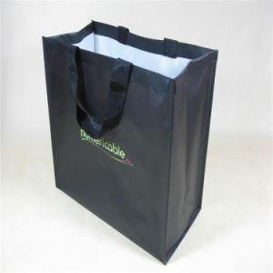 Non Woven Laminated PP Shopping Bag (MECO137) pictures & photos