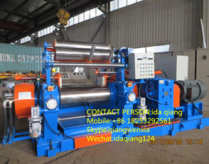 Qingdao China Rubber Two Roll Open Mixing Mill Machine Xk-400/450/560 pictures & photos