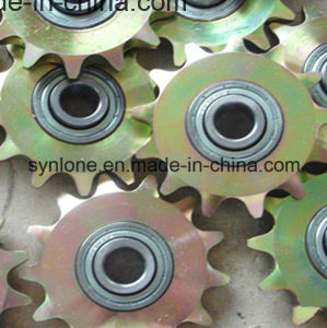 Sprocket Wheel with Bearing, Colored Zinc Plated pictures & photos