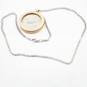 Top Quality Stainless Steel Fashion Necklace Jewellery with Locket pictures & photos