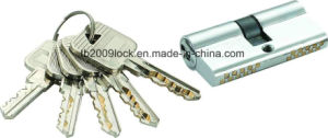 High Security Double Pins Groove Key Lock Cylinder (C3360-261 CP) pictures & photos
