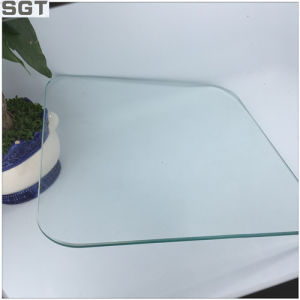Clear Float Glass/Toughened Grinding Edges Processing Technology Safety Round Corner pictures & photos