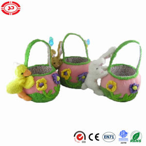 Kids Easter Basket with Plush Soft Toy Gift pictures & photos