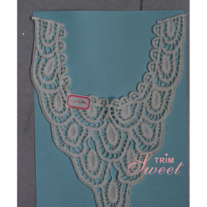 Fashion Customized Collar Cotton Embroidery Border Colar Lace pictures & photos