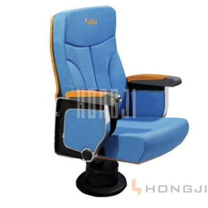 Single Foot Multiplex Auditorium Seat, Lecture Concert Hall Seating Hj9624 pictures & photos