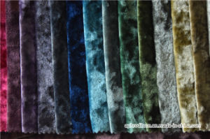 Top Grade Curtain Fabric Material/Velvet Window Curtain Fabric pictures & photos