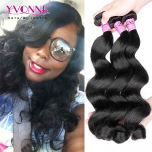 Unprocessed 100% Brazilian Virgin Human Hair Extension pictures & photos
