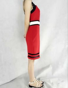 Hot Style Women′s Knitted Fashion Dress with Assorted Colors pictures & photos