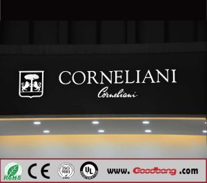 High Quality Chrome Acrylic LED Illuminated Channel Letter Signs pictures & photos