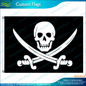 Pirate Flying Banner/ Quality Custom Flags and Banners (J-NF01F03038) pictures & photos